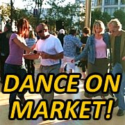 Dance on Market: Swing Dance at UN Plaza!